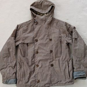 Burton White Collection Snowboarding Jacket Mens M